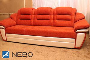 Оранжевая мягкая мебель - фото - 9849