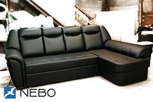 Черная мягкая мебель - фото - 9866