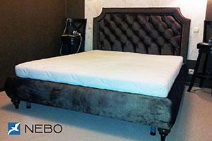 Кровать из кожи - 9933