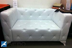 Кожаный диван - 9874