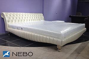 Кровать из кожи - 9447