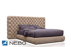 Кровать из кожи - 9455