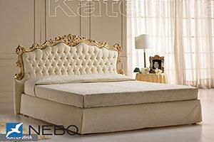 Кровать из кожи - 9457