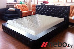 Кровать из кожи - 9298