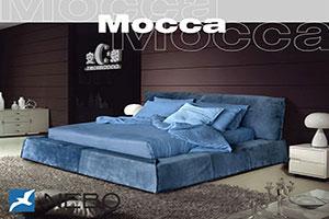 Кровать из кожи - 9458
