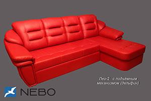 Красная мягкая мебель - фото - 9897
