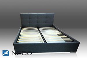 Кровать из кожи - 9624