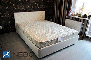 Кровать из кожи - 9608