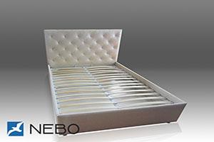 Кровать из кожи - 9604