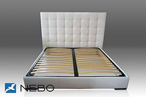 Кровать из кожи - 9605