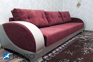 Красная мягкая мебель - фото - 9761