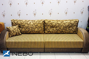 Желтая мягкая мебель - фото - 9734