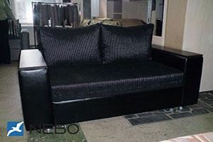 Черная мягкая мебель - фото - 9718