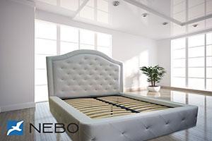 Кровать из кожи - 9650