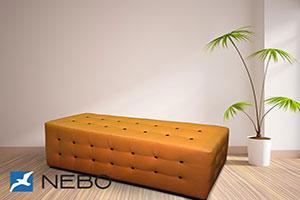 Оранжевая мягкая мебель - фото - 9667