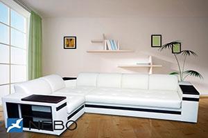 Мягкая мебель из кожи и экокожи - фото - 9689