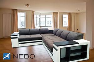 Угловой диван - 9691