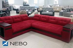 Красная мягкая мебель - фото - 9694