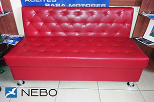 Красная мягкая мебель - фото - 9681