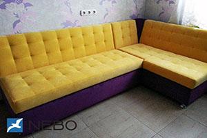Желтая мягкая мебель - фото - 9671