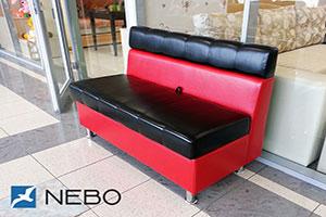Красная мягкая мебель - фото - 9673