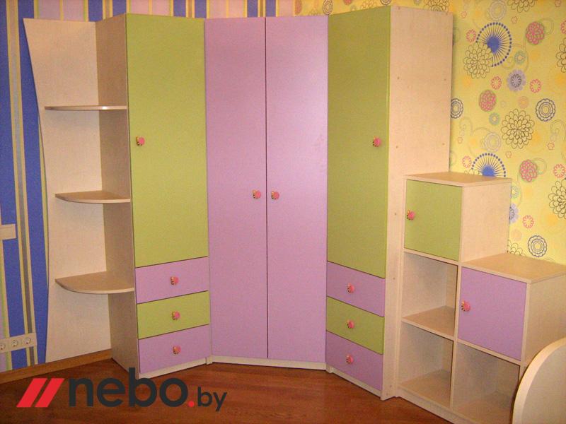 Шкаф угловой для детской - купить шкафы и стеллажи для детск.