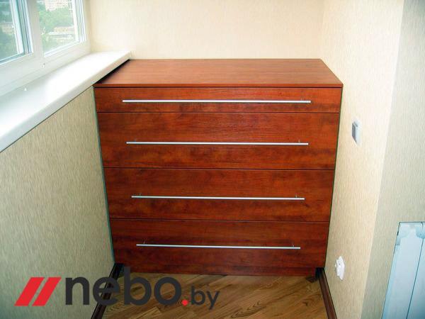 Арт. 5742 - мебель для балкона - мебель на заказ.