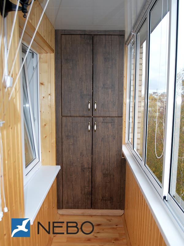 Арт. 5782 - мебель для балкона - мебель на заказ.