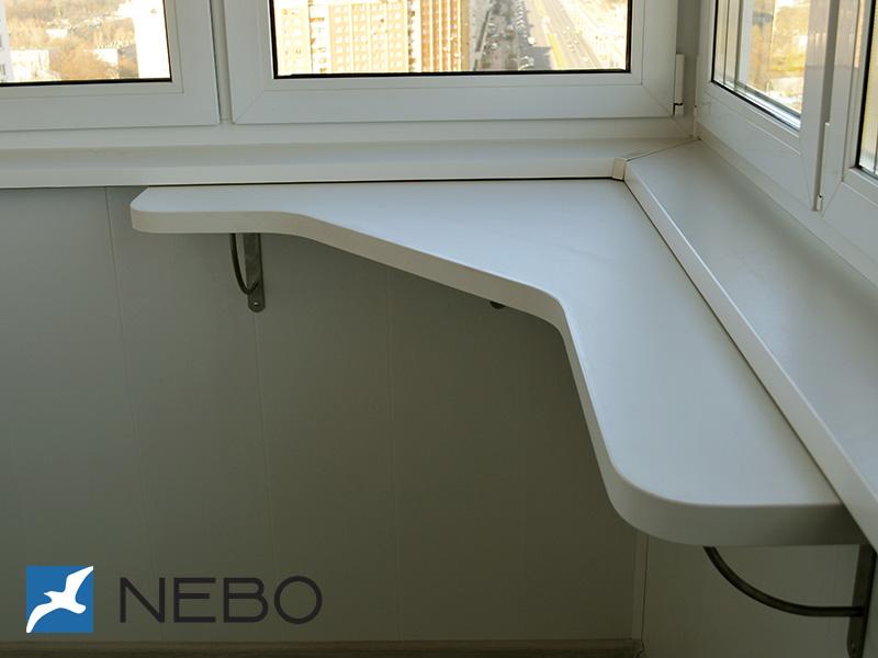 Арт. 5784 - мебель для балкона - мебель на заказ.