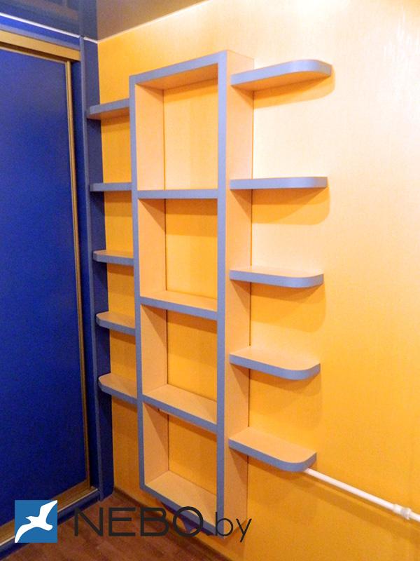 Арт. 6083 - полки - мебель на заказ.