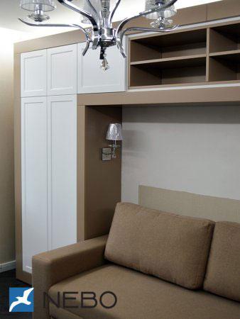 Классические распашные шкафы - фото - 11097