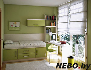 Зеленая и салатовая детская мебель - фото - 4967