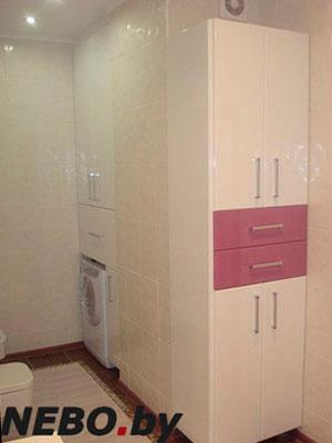 Розовая мебель для ванной - фото - 5089