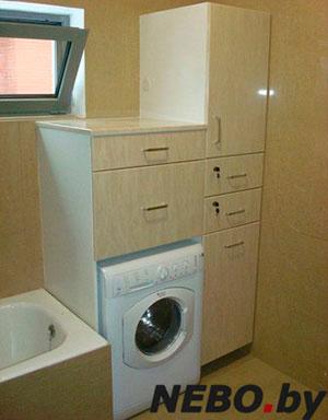 Бежевая и желтая мебель для ванной - фото - 5090