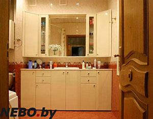 Бежевая и желтая мебель для ванной - фото - 5130