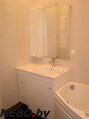 Бежевая и желтая мебель для ванной - фото - 5132