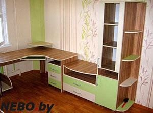 Зеленая и салатовая детская мебель - фото - 4979