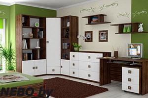 Белая детская мебель - фото - 4989