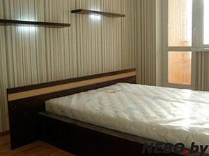 Кровати и спальни цвета венге - фото - 4896