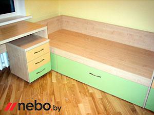 Зеленая и салатовая детская мебель - фото - 4999