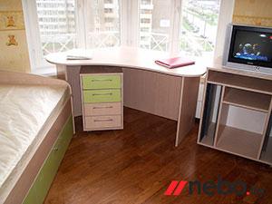 Зеленая и салатовая детская мебель - фото - 5009