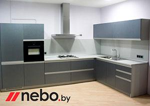 Серые кухни - фото - 3653