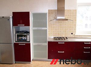 Красные кухни - фото - 3672