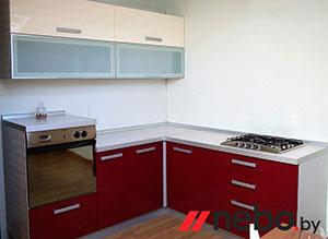 Красные кухни - фото - 3679