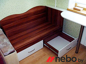 Кровати и спальни цвета венге - фото - 4902
