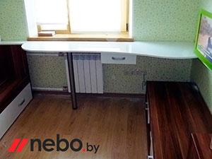 Белая детская мебель - фото - 5021