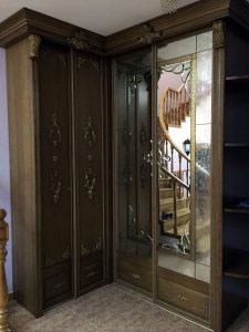 Шкафы-купе со стразами - фото - 21152