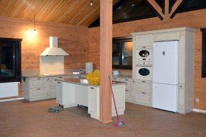 Кухни с патиной - фото - 21416