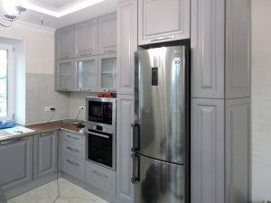 Серые кухни - фото - 21421