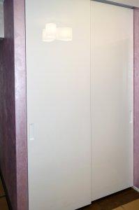 Шкафы-купе из МДФ крашенного - фото - 21437